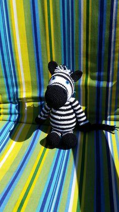 Zebra van kooppatroon betje zebra