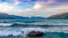 Wallpaper Lake Ohau - Valley of the Winds [3840x2160]