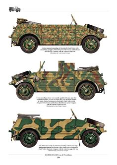 Kubelwagen Camouflage Colors, Camouflage Patterns, Army Vehicles, Armored Vehicles, Kdf Wagen, German Uniforms, Model Tanks, Military Modelling, Ww2 Tanks