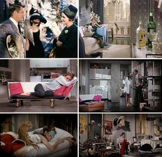 """""""Breakfast at Tiffany's""""   Cinema Style: 20 Unforgettable American Movie Interiors   Apartment Therapy"""