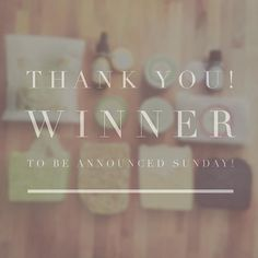 Thank you for participating in our contest! Please keep sharing and liking winner to be announced on Sunday! Skin Food, Natural Skin, Place Cards, Swag, Sunday, Place Card Holders, Happy, Instagram Posts, Beauty