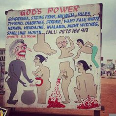 Traditional doctors in Ghana