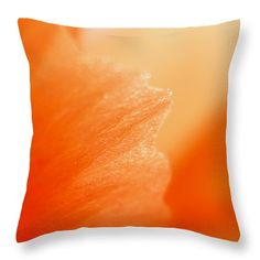 """Glowing Grace Throw Pillow 14"""" x 14"""" by Marnie Patchett"""