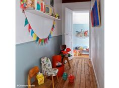 Decoration couloir deco enfant