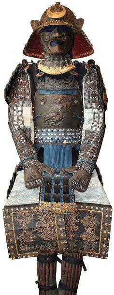 Samurai armour, Richard Béliveau's collection, o-boshi suji bachi kabuto, uchidachi dou gusoku.