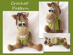 Hey, I found this really awesome Etsy listing at https://www.etsy.com/listing/166647883/crochet-pattern-amigurumi-horse-crochet