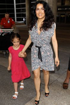 Check out these 8 celeb kids who are flying way more than your average person. Famous Celebrities, Hollywood Celebrities, Celebs, Celebrity Babies, Celebrity Style, Celebrity Daughters, Celebrity Children, Celebrity Photos, Salma Hayek