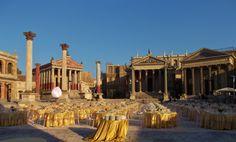 Rome - Gala Dinner Set up