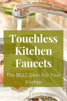 It is important to understand that these touchless kitchen faucets have their prices ranging in hundreds of dollars. Nevertheless, you are guaranteed a top-quality kitchen fixture. Kitchen Faucet Reviews, Best Kitchen Faucets, Kitchen Fixtures, Kitchen Gadgets, Red Kitchen, Kitchen Colors, Kitchen Design, Martha Stewart, Touchless Kitchen Faucet