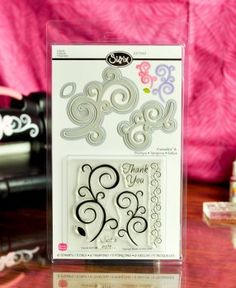 Sizzix Framelits Die Set 5PK w/Stamps - Swirls from The Stamps of Life by Stephanie Barnard $27.99