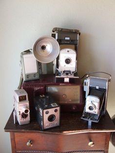 5 More Vintage Camera Display Methods