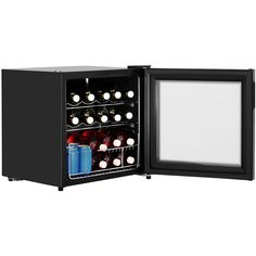 Lec Table Top DF50B Fridge - Black