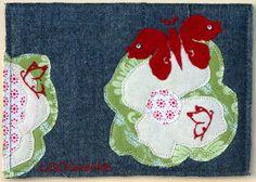 LOCKwerkE: STOFFKARTE Schmetterlingskarte Kids Rugs, Home Decor, Repurpose, Decoration Home, Kid Friendly Rugs, Room Decor, Home Interior Design, Home Decoration, Nursery Rugs