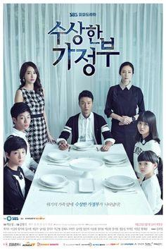 Suspicious Housekeeper (수상한 가정부) Korean - Drama Starring: Choi Ji Woo, Lee Sung Jae and Wang Ji Hye All Korean Drama, Korean Drama Series, Korean Dramas, Drama Korea, Drama Film, Drama Movies, Kdrama, Japanese Drama, Sungjae