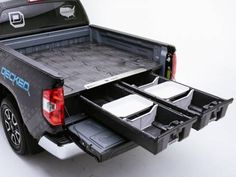 52 ideas for pick up truck bed storage vehicles Truck Bed Storage, Camper Storage, Truck Bed Camper, Truck Camping, Custom Truck Beds, Custom Trucks, New Trucks, Pickup Trucks, Truck Toddler Bed