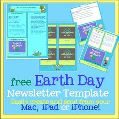 Pages Set Of  Newsletter Templates  Create On The Go Using