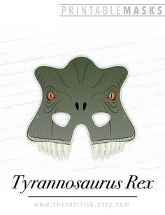 Tyrannosaurus Rex Dinosaur Printable Playtime # #tyrannosaurusrex #dinosaurprintable #playtimemaskfor #kidshalloween #partiest-rex #theaterprop #photobooth #jurassic #party #prehistoric #fun #t-rexmask #dinosaurmasks Printable Halloween Masks, Printable Masks, Halloween Kids, Halloween Party, Dinosaur Printables, Puppy Party, Animal Masks, Tyrannosaurus Rex, School Parties