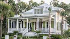 Timeless Southern House Plans That Will Be Love at First Sight - Timeless Southern House Plans: River Place Cottage (Plan Number - Coastal House Plans, Southern Living House Plans, Beach House Plans, Country House Plans, Dream House Plans, Charleston House Plans, Florida House Plans, Charleston Style, Country Houses