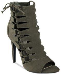 G by GUESS Baxter Peep-Toe Dress Sandals | macys.com