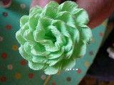 kwiat z bibuły