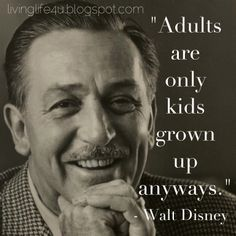 """Never been too old to have fun!  Check out """"Disney's Lesson's for happiness"""" on Live YOUR Life Blog!"""