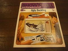 Ugly Duckling Show 'Tell Picturesound by General Electric #vintage #toys #records