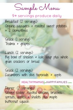 9+ Servings of Fruit & Veggies Daily is totally doable & will seriously boost your health!