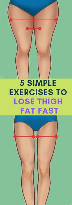 Simple Exercises to Lose Thigh Fat Fast Lose Weight Without Trying! Discover the 5 Simple Exercises to Lose Thigh Fat Fast.Lose Weight Without Trying! Discover the 5 Simple Exercises to Lose Thigh Fat Fast. Quick Weight Loss Tips, Losing Weight Tips, Weight Loss Goals, How To Lose Weight Fast, Weight Gain, Exercises To Lose Weight, Workout To Lose Weight Fast, Fitness Exercises, Reduce Weight