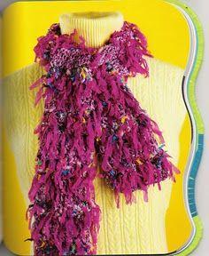 Crochet Scarves - *-eva-*2 - Álbumes web de Picasa