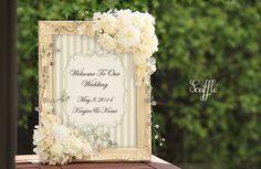 ガーデンブラックボード Welcome Boards, Welcome To Our Wedding, Frame, Home Decor, Picture Frame, Decoration Home, Room Decor, Frames, Home Interior Design