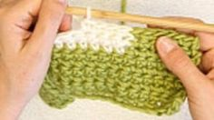 DROPS Crochet Tutorial: How to crochet with multiple colors on Vimeo