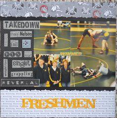 Freshman wrestling 2 - Scrapbook.com