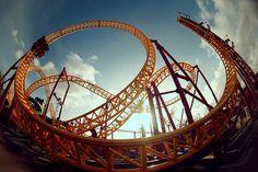 Rollercoaster. #fisheye