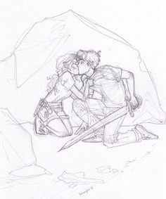 Percabeth kiss! - Percy Jackson  The Olympians Books Fan Art ... Firts Kiss