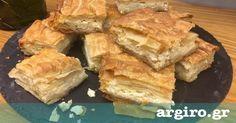 Εύκολη τυρόπιτα από την Αργυρώ Μπαρμπαρίγου | Η πιο εύκολη τυρόπιτα που υπάρχει. Μέσα σε 3 λεπτά την ετοιμάζεις, την ψήνεις και απολαμβάνεις!
