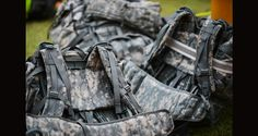 """The military has spent years studying the best way to move under a load (aka """"rucking""""). Here are 5 military rucking rules that translate well to hikers. Travel General, Trekking Gear, Walkabout, Hiking Tips, Training Equipment, Hiking Backpack, Military, Fitness, Bags"""