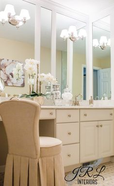 Classic finishes make for timeless style in this master bathroom renovation by JRL Interiors. Check out our price guidelines for planning your bathroom renovation. Classic Bathroom, Modern Bathroom, Master Bathroom, Design Bathroom, Bath Design, Bathroom Cost, Bathroom Trends, Picture Frame Wainscoting, Mirror Trim