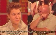 he always cares about his family and fans #20ReasonsWhyWeLoveJustin