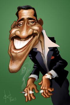 Sammy Davis Jr. by StudioCandia on DeviantArt