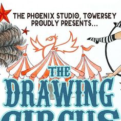 Come join us for THE creative event of the summer! The Drawing Circus is coming to the Phoenix Studio on 28th/29th July. It's life drawing but not as you know it! Its open to all artistic abilities including the complete novice plus there's a family friendly session on the Sunday moving! Follow the link in our bio to find out more and please do help spread the word! . . . . . @phoenixstudiotowersey @james.ort @drawingcircus #lifedrawing #lifedraw #drawingcircus #artcourses #artclass…