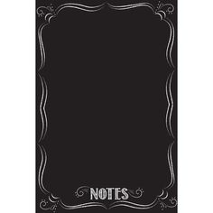 Choose a chic blackboard that's both a stylish room addition as well as a place to keep notes