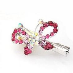 Smile hair clip dot double layer bow hair clips side-knotted clip metal hair clip ** Continue to the product at the image link.