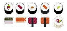 Sushi Bar by Modik , via Behance