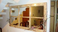 Transforme janelas antigas em objetos de decoração -