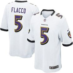 Baltimore Ravens http    5 Joe Flacco NIKE White Mens Game NFL Jersey 76a7acdc1