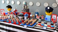Partylicious: {LEGO City Police Birthday}