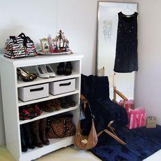 Repurposed Dresser - Accessories/Shoe Storage