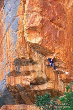 """An image by Simon Carter, repinned and last """"source"""" is from a Tumblr page, author hasn't credited image in any way.... #climbing"""
