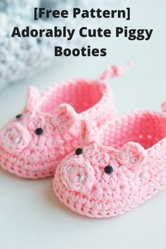 [Free Pattern] Adorably Cute Baby Booties That Will Totally Take Your Breath Away