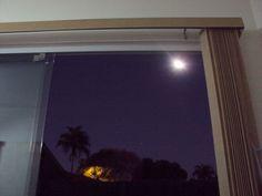 Lua dentro de casa  foto:Kp
